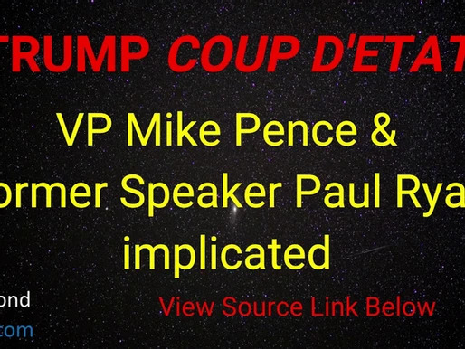 Declass begins Pence-Ryan of the Donald j Trump assassination attempt emails