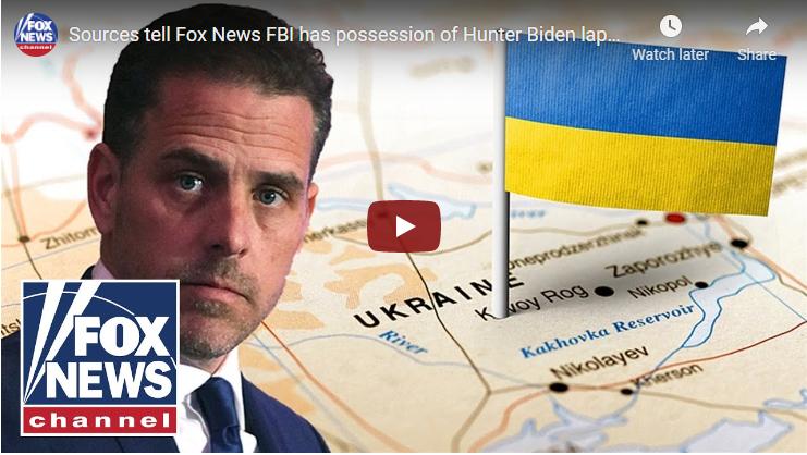 Sources tell Fox News FBI has possession of Hunter Biden laptop